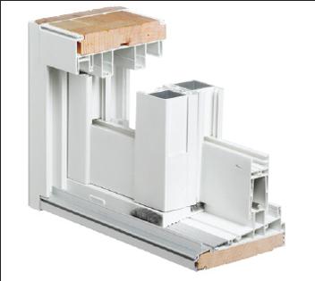 Vinylclad Wood Frame